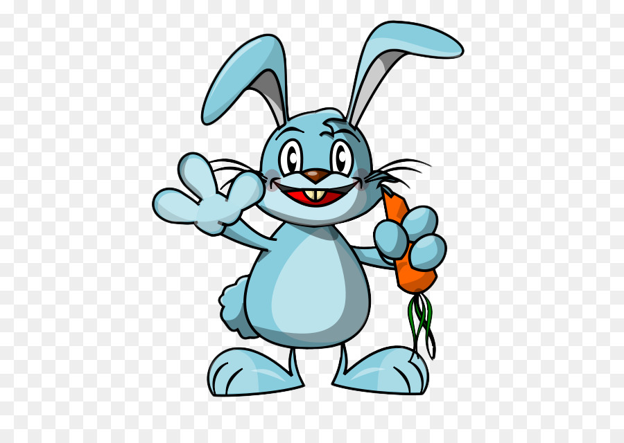 Bunny animated. Easter egg background png