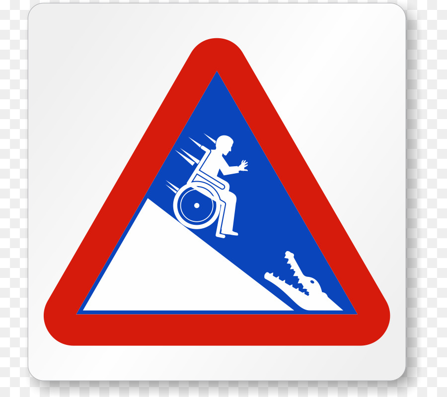 crocodile wheelchair warning sign alligator alligator images free