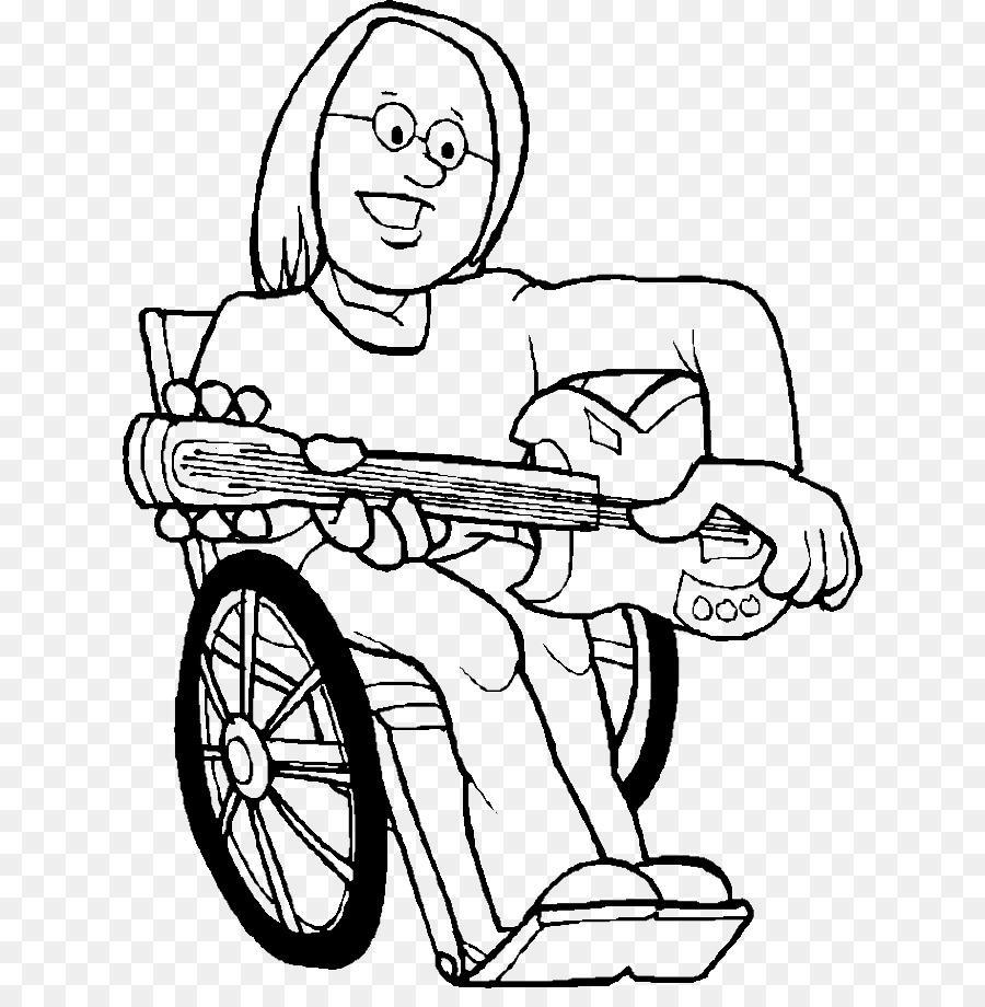 Disability Coloring Book Play Clip Art Bowling Pictures To