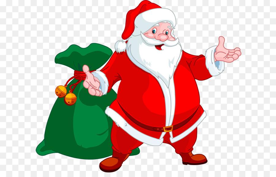 Santa Claus Clip Art Happy Santa Cliparts