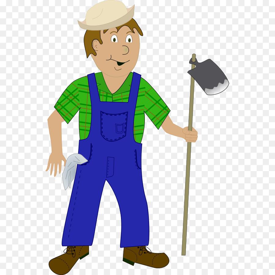 Farmer Cartoon Agriculture Clip Art
