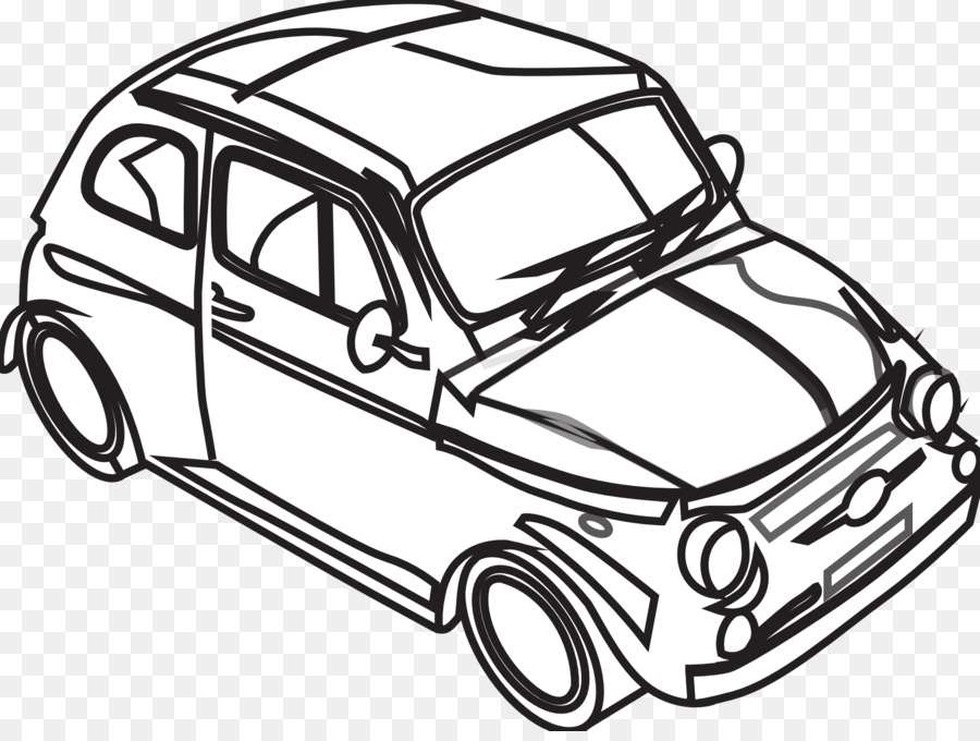Car Black And White Drawing Clip Art