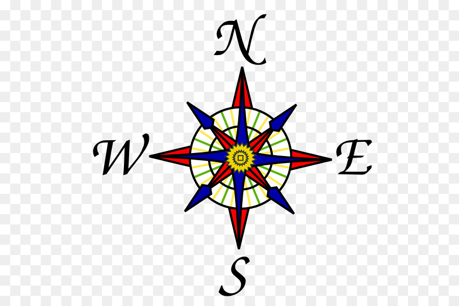photo relating to Printable Compass Rose known as Comp Rose Drawing png obtain - 582*596 - Cost-free