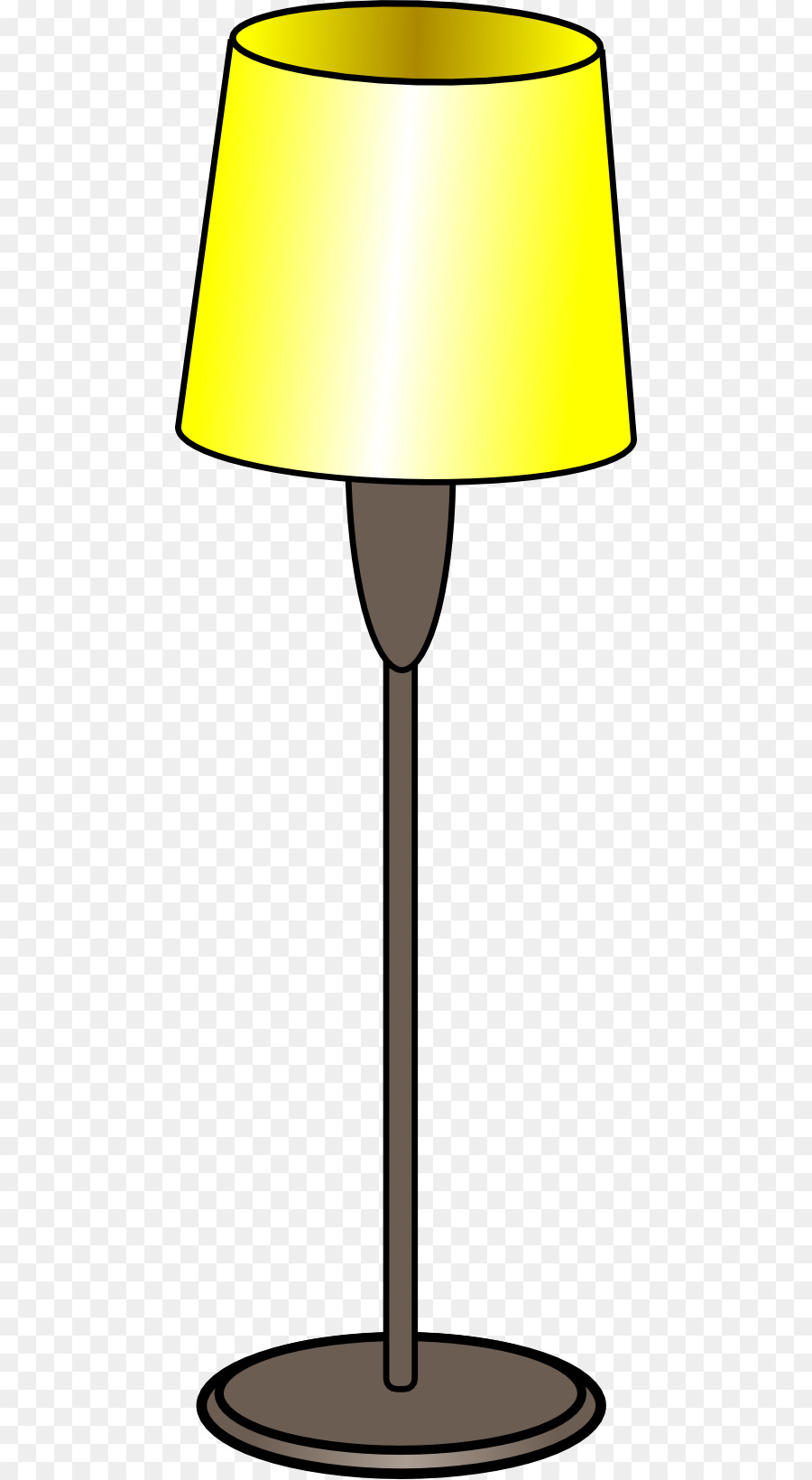 Table Lamp Floor Lighting Clip art - Tall Cat Cliparts png download ... for tall lamp clipart  76uhy