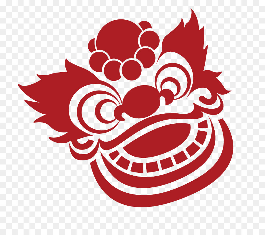 China Chinese New Year Computer Icons Lion Dance Traditional Paper