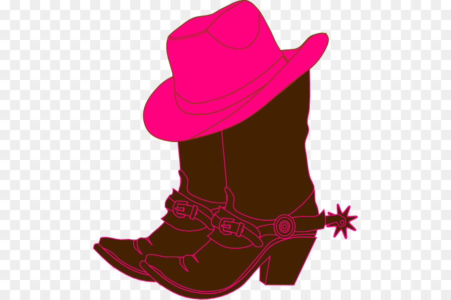c001a4a4088f2 Cowboy boot Cowboy hat Clip art - Western Cowgirl Cliparts png ...