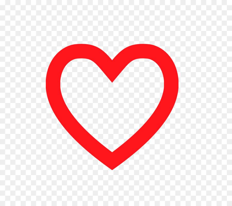 Heart Clip Art Big Heart Image Png Download 800800 Free