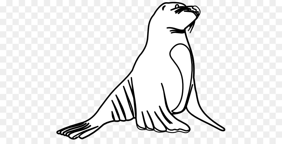 Earless Seal Sea Lion Clip Art