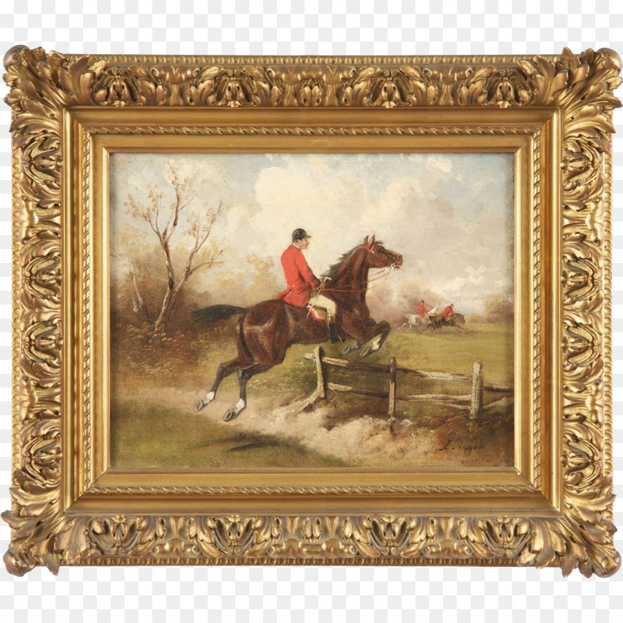 The Horse Fair Oil painting Picture Frames Watercolor painting - Oil ...