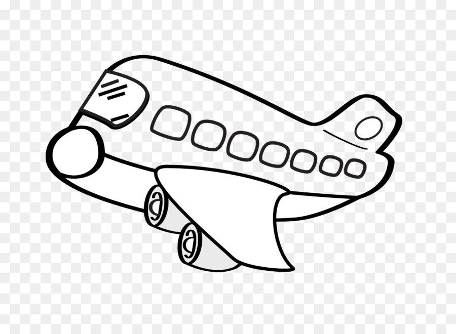 airplane drawing white clip art cartoon airplane clipart png rh kisspng com Cartoon Cloud Outline Cartoon Helicopter Clip Art