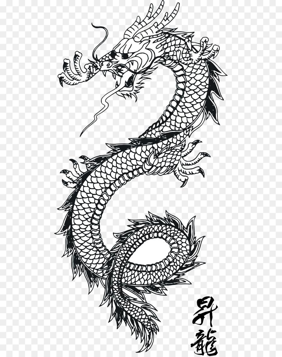 Something chinese dragon art