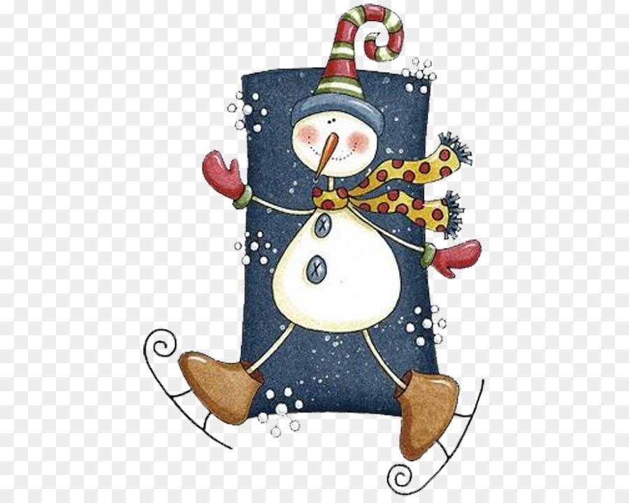Christmas tree Snowman Christmas card Christmas ornament - Dancing ...