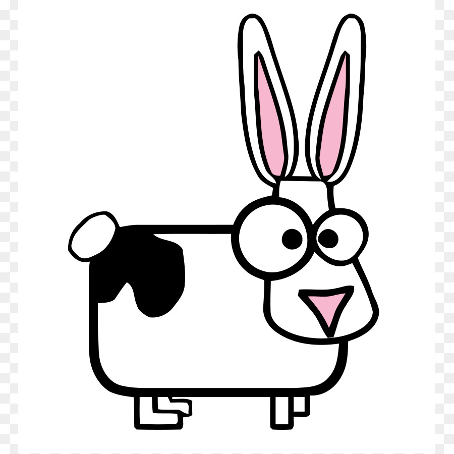 holstein friesian cattle highland cattle calf clip art bunny rh kisspng com free rabbit clipart black and white free easter rabbit clipart