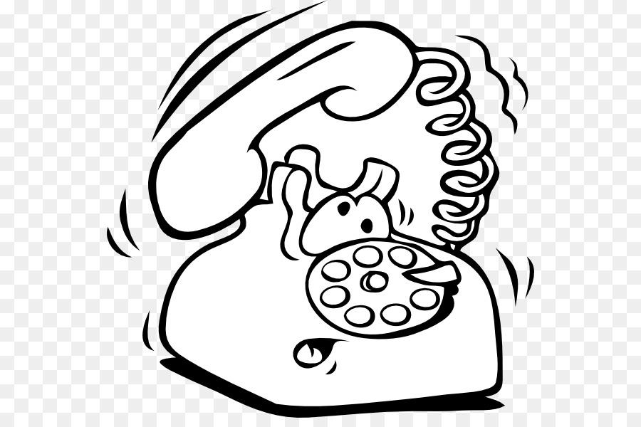 Teléfono De Libro De Colorear Para Los Teléfonos Móviles Del Dial