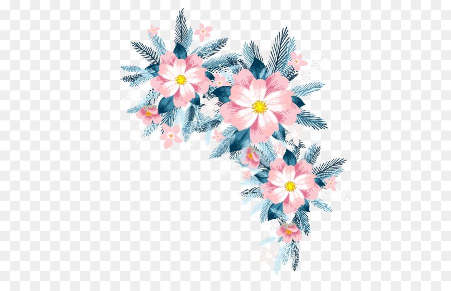 Floral Design Pineapple Cake Flower Vector Flowers Png