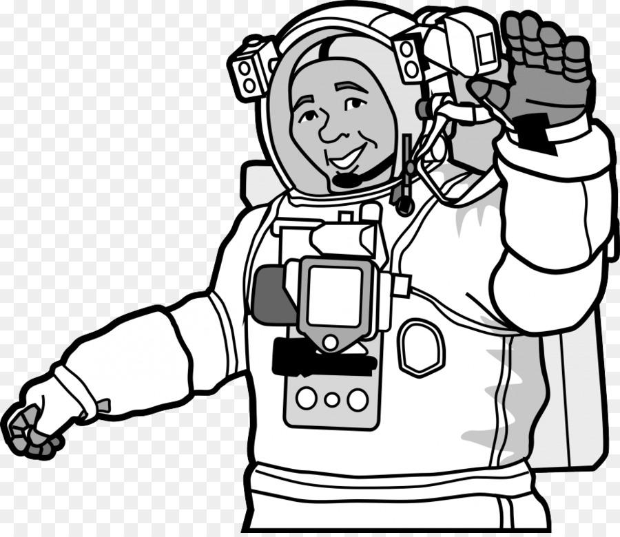 El astronauta de Papel de Hoja de cálculo traje Espacial en la ...