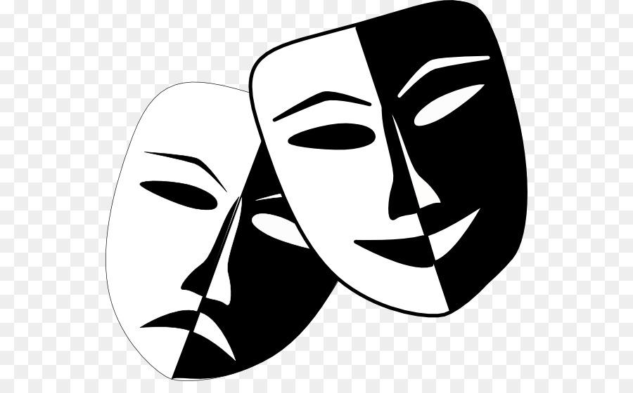 theatre drama mask play clip art theatre masks png download 600 rh kisspng com Drama Clip Art Drama Symbols Clip Art