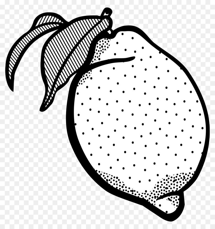Lemon Cheesecake Line art Black and white Clip art - Lemon Outline ... for Clipart Lemon Black And White  70ref