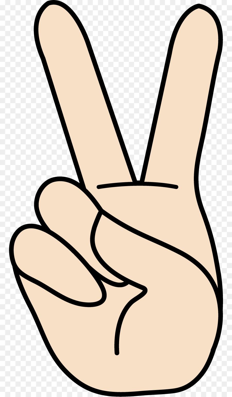 Peace Symbols V Sign Gesture Sign Language Clip Art Peaceful Signs