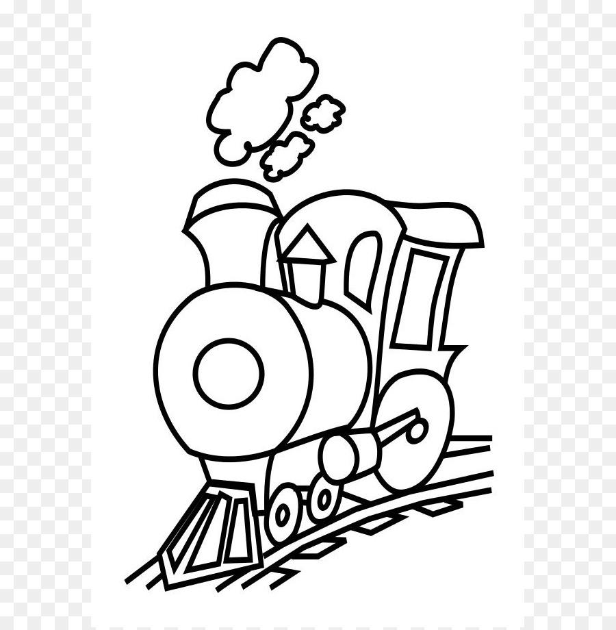 Tren de Animación libro para Colorear, imágenes prediseñadas ...