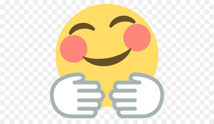 Emojipedia Hug Emoticon Smiley Freedom Emoji Cliparts Png Download
