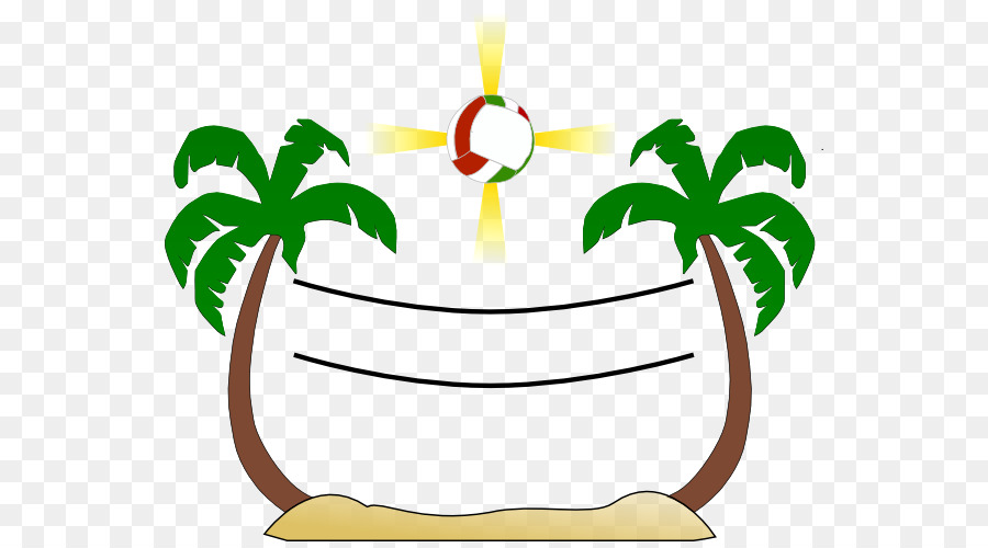 arecaceae cartoon tree sabal palm clip art volleyball net clipart rh kisspng com  volleyball net clipart black and white