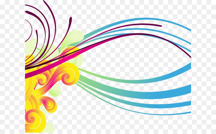 Color de línea Euclidiana del vector de la Tecnología - Líneas de ...