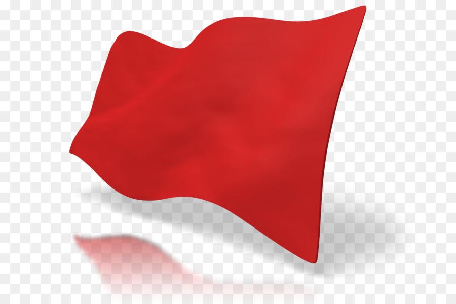 Rote Fahnen für Jungs