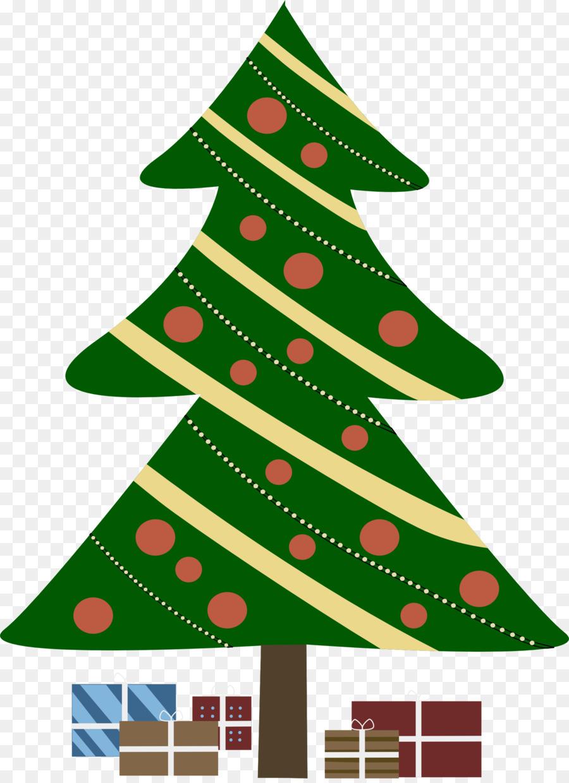christmas tree gift clip art cute christmas present clipart