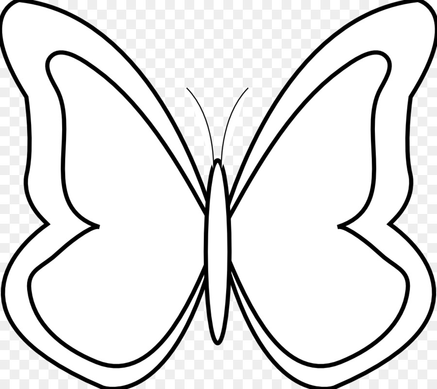 butterfly black and white clip art simple butterfly black and rh kisspng com butterflies clipart black and white butterfly clipart images black and white