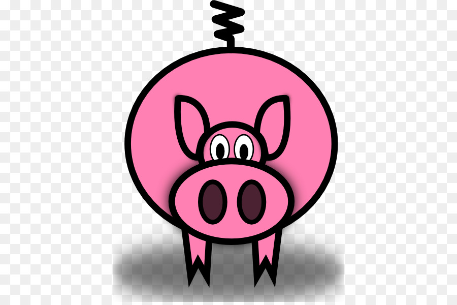 domestic pig pig roast the three little pigs clip art animated rh kisspng com