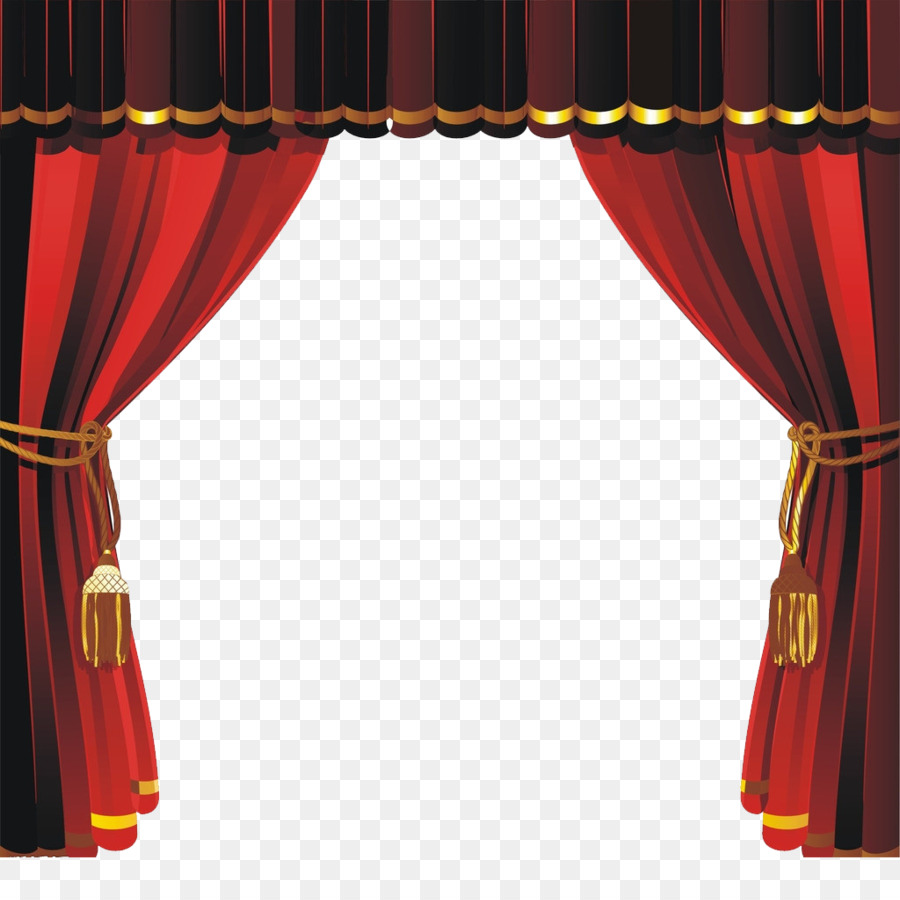 in room golden a and drapes dark red stage photo theater stock frame