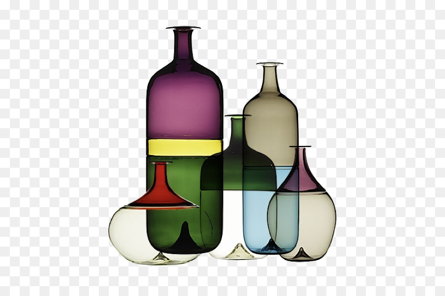 Finland Glass Vase Designer Colored Glass Png Download 670590