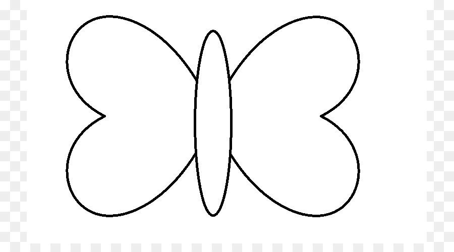 Mariposa Dibujo En Blanco Y Negro Imágenes Prediseñadas