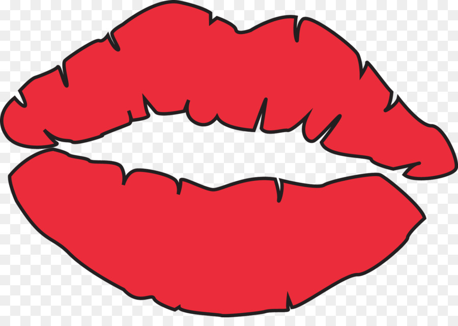 Lip Coloring Book Kiss Drawing Clip Art