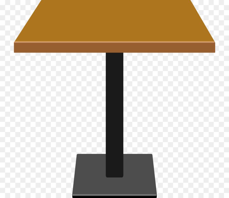 Coffee Tables Matbord Clip Art Cartoon Wooden Sign