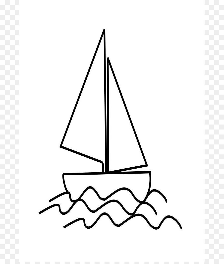 sailboat drawing child clip art flower templates printable png