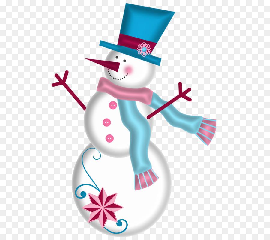 Jack Frost-Schneemann-Weihnachten-clipart - Cartoon Schneemann png ...