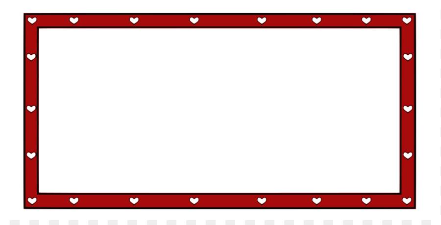 Borders and Frames Valentine\'s Day Heart Clip art - Burgundy Banner ...