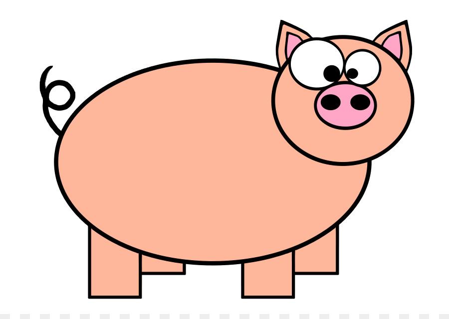 domestic pig pig roast cartoon clip art free pig clipart png rh kisspng com pig clip art free pig clip art free download