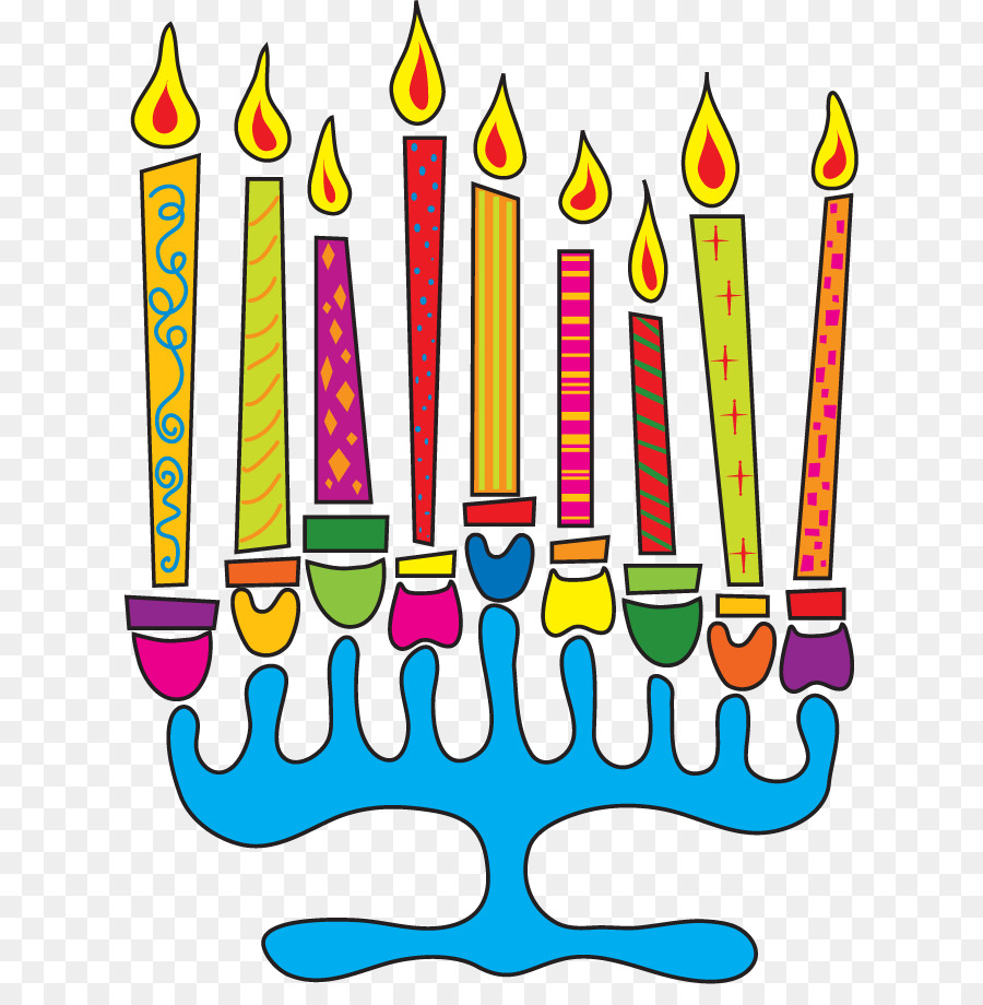 Hanukkah Menorah Dreidel Greeting Note Cards Clip Art Pictures
