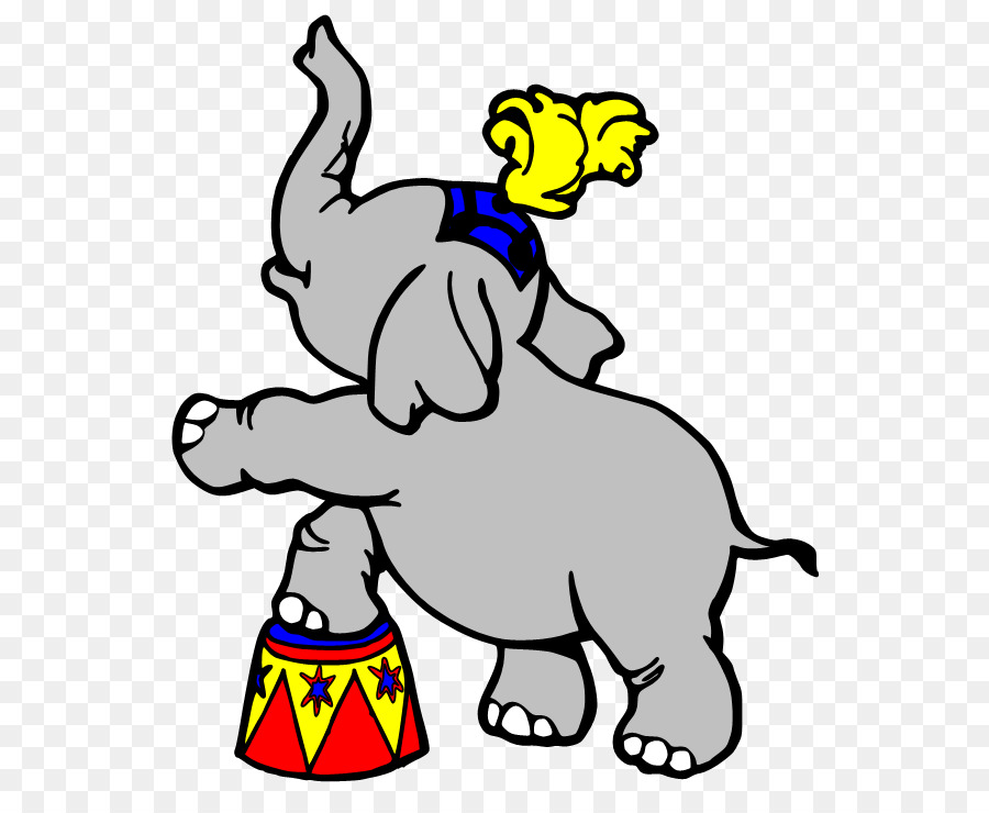 Circus Coloring book Elephant Cartoon Clip art - Elephant Picture ...