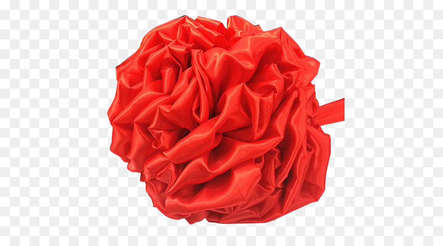 red garden roses flower silk textile red ribbons tied bouquet png