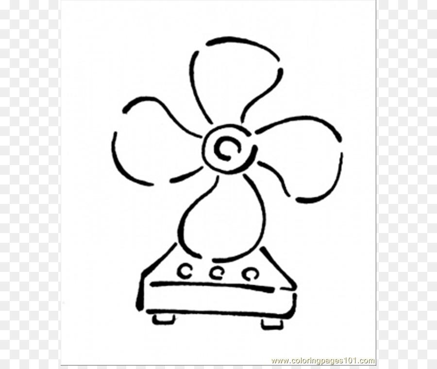 De la mano del ventilador libro para Colorear de electrodomésticos ...