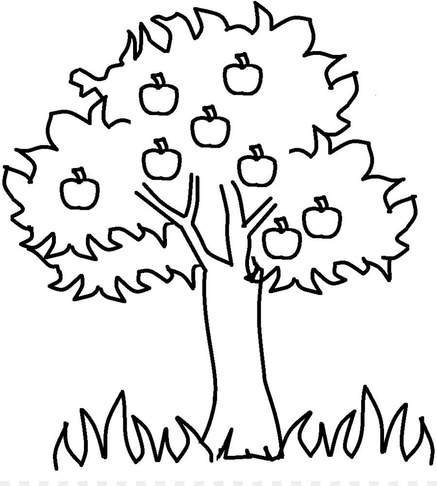 Elma Ağacı Küçük Resim çizimi Yaz Ağaç Fotograflardan 9161008