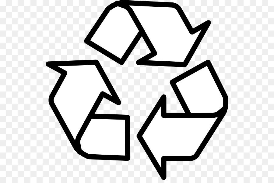 Símbolo de reciclaje libro para Colorear de Reutilización de Clip ...