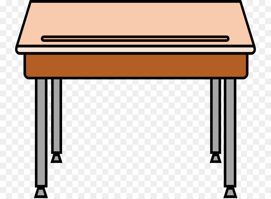 Student Table Desk Carteira Escolar Clip Art