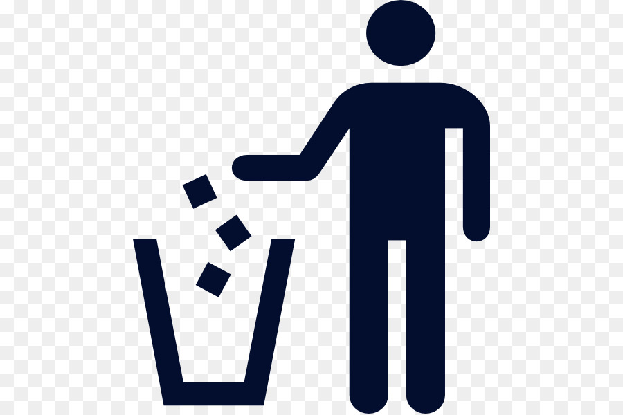 Litter No Symbol Clip Art Trash Guy Cliparts Png Download 516