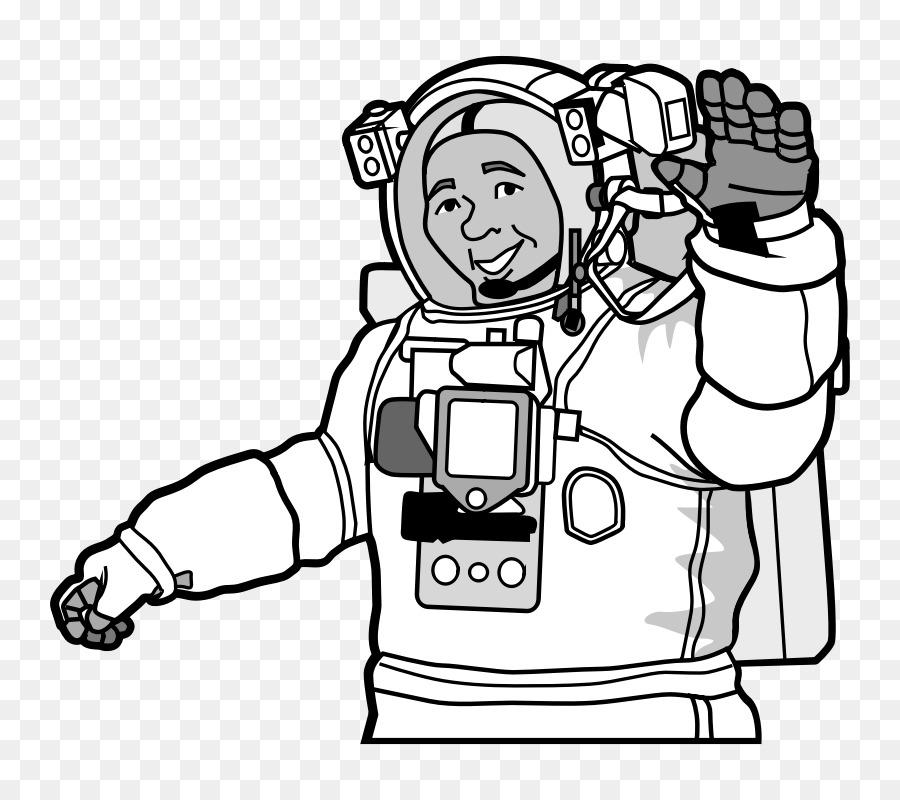 El astronauta de Papel de Hoja de cálculo espacio Exterior de la ...