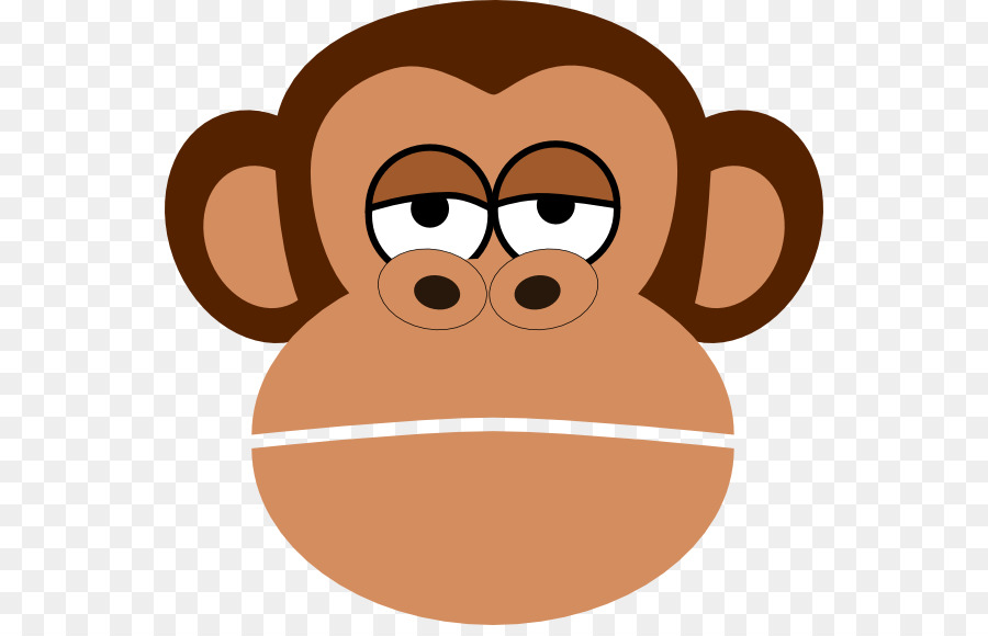 monkey cartoon face drawing clip art sad monkey cliparts png rh kisspng com funny monkey face clip art funny monkey face clip art